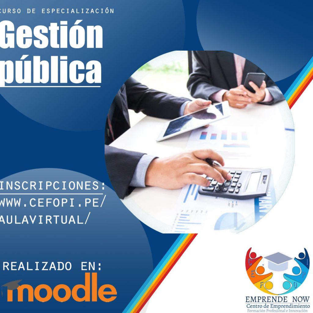 curso gestion publica